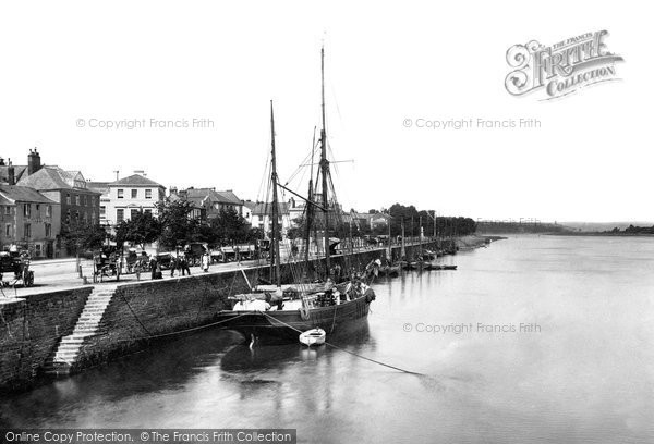 Bideford, The River Torridge 1907