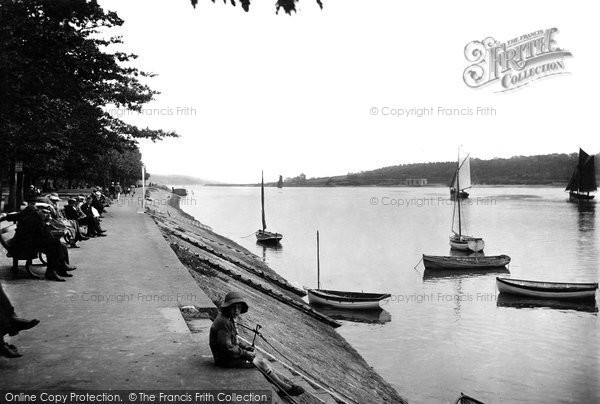 Bideford, The River Torridge 1919
