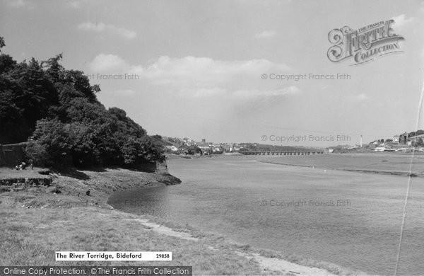 Bideford, The River Torridge c.1964