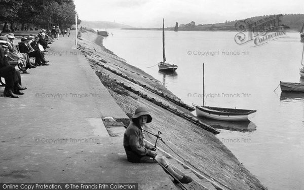 Bideford, The Riverbank 1919