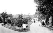 Bideford, Victoria Park 1906