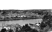 Bideford, View Across The River Torridge 1929
