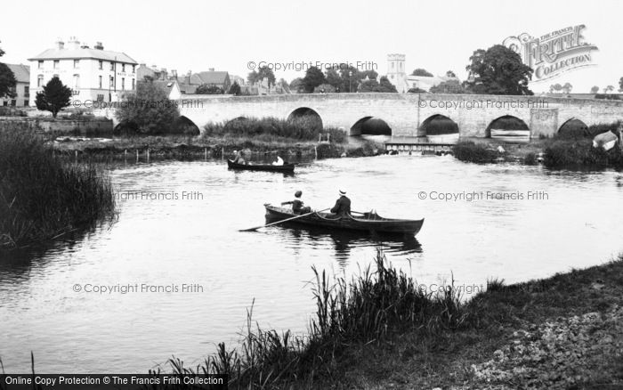 Bidford On Avon, Bridge 1910