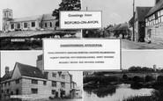 Bidford-On-Avon, Composite With Shakespearean Apocrypha c.1960