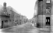 Bidford-On-Avon, High Street 1901