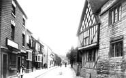 Bidford-On-Avon, High Street 1910