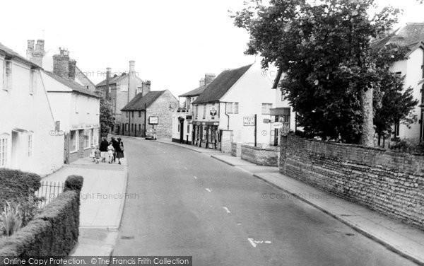 Bidford On Avon, High Street c.1959