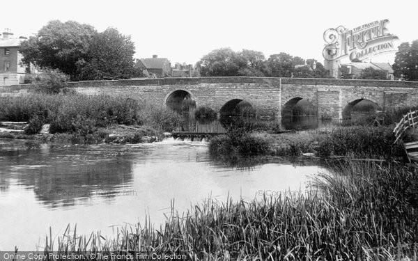 Bidford On Avon, The Bridge 1899