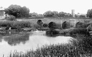Bidford-On-Avon, The Bridge 1899