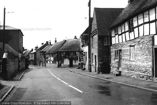Bidford On Avon, The Town c.1955