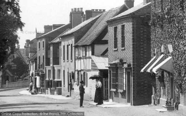 Bidford On Avon, The Village 1899