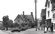 Bidford-On-Avon, the Village Shop c1955