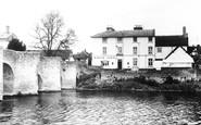Bidford-On-Avon, The White Lion Hotel c.1955