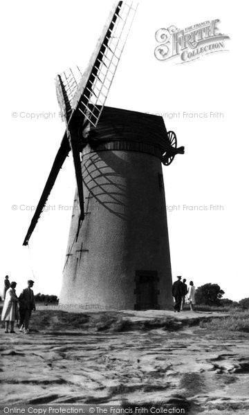 Bidston, The Windmill c.1955