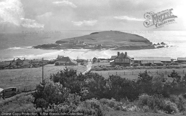 Bigbury On Sea, And Burgh Island 1931