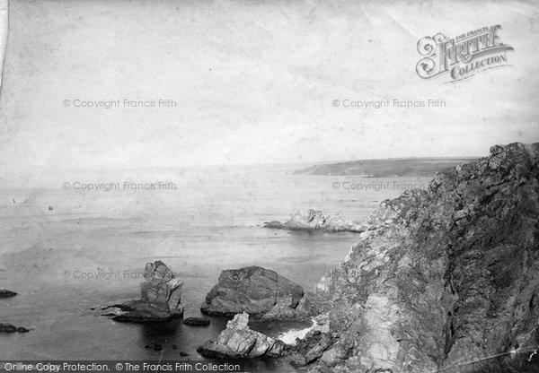Bigbury On Sea, Bay 1890