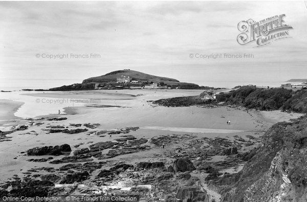 Bigbury On Sea, Burgh Island c.1959