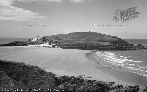 Bigbury On Sea, Burgh Island c.1961