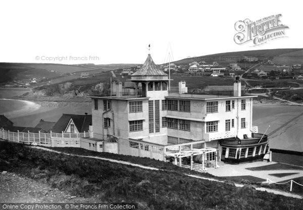 Bigbury On Sea, Burgh Island Hotel And The Mainland c.1935