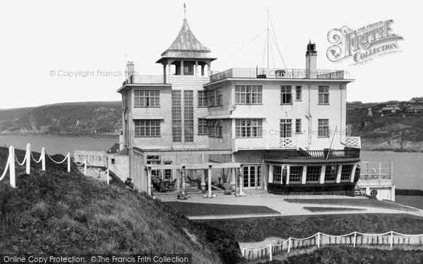 Bigbury On Sea, Burgh Island Hotel c.1935