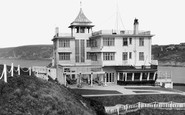 Bigbury On Sea, Burgh Island Hotel c.1935