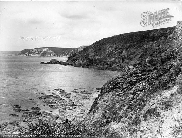 Bigbury On Sea, Challaborough Cliffs 1925