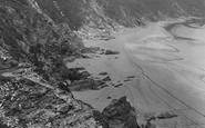 Bigbury On Sea, Cliffs 1925
