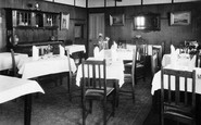 Bigbury On Sea, Dining Room, Bay Court Hotel c.1935