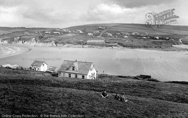 Bigbury On Sea, From Burgh Island 1924