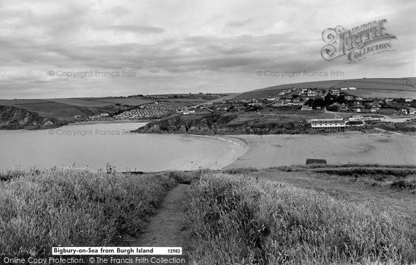 Bigbury On Sea, From Burgh Island c.1959