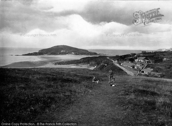 Bigbury On Sea, From Climaton Hill 1924