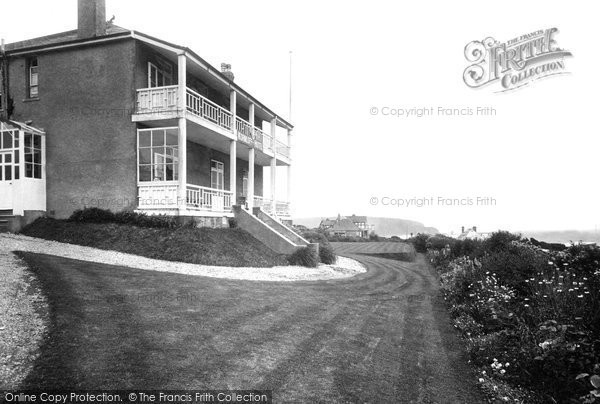 Bigbury On Sea, Korniloff Hotel 1931