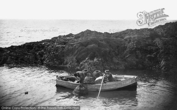 Bigbury On Sea, Lobster Catching c.1935