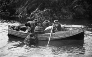 Bigbury-On-Sea, Lobster Fishermen c.1935