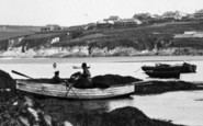 Bigbury-On-Sea, Lobster Fishermen c.1935