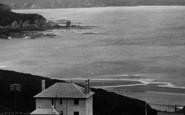 Bigbury-On-Sea, Longstone Rock And Bolt Tail 1925