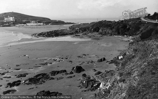Bigbury On Sea, Sedgewell Cove 1938