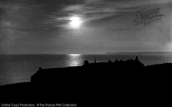 Bigbury On Sea, Sunset c.1935