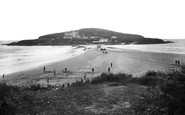 Bigbury On Sea, The Beach And Burgh Island 1931