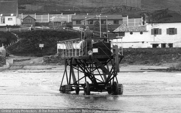 Bigbury On Sea, The Burgh Island Hotel Tractor 1931
