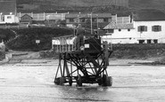 Bigbury On Sea, The Burgh Island Hotel Tractor 1931