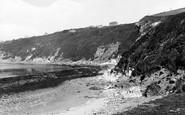 Bigbury On Sea, The Cliffs 1925