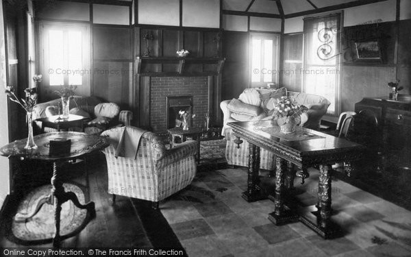 Bigbury On Sea, The Drawing Room, Bay Court Hotel c.1935