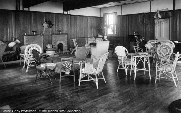 Bigbury On Sea, The Lounge, Bay Court Hotel c.1935