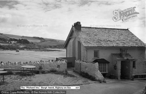 Bigbury On Sea, The Pilchard Inn, Burgh Island c.1961