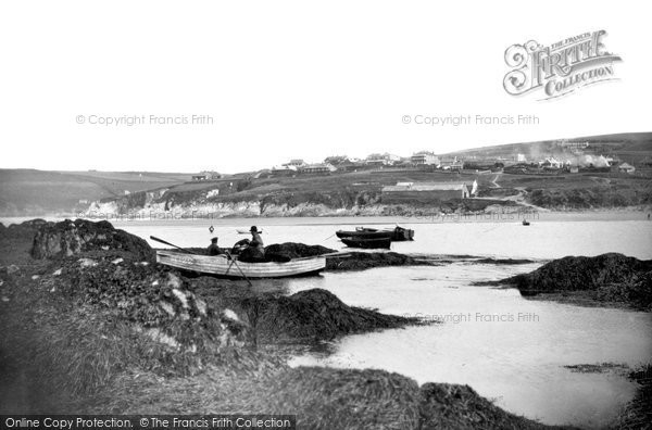 Bigbury On Sea, The Straits From Burgh Island c.1935