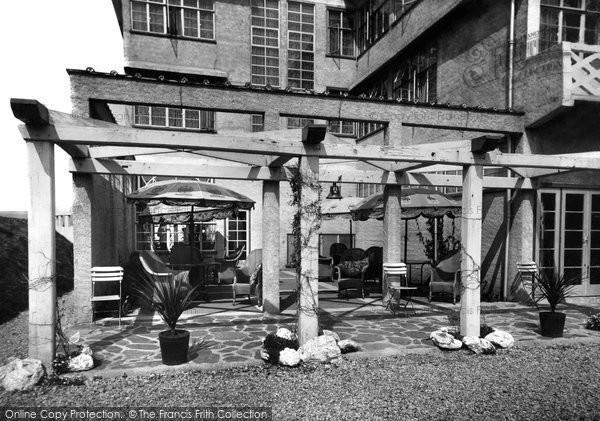 Bigbury On Sea, The Sun Trap, Burgh Island Hotel c.1935