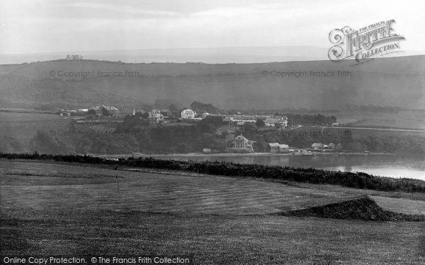 Bigbury On Sea, View From Golf Links 1925