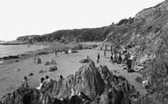 Bigbury On Sea, West Beach c.1935