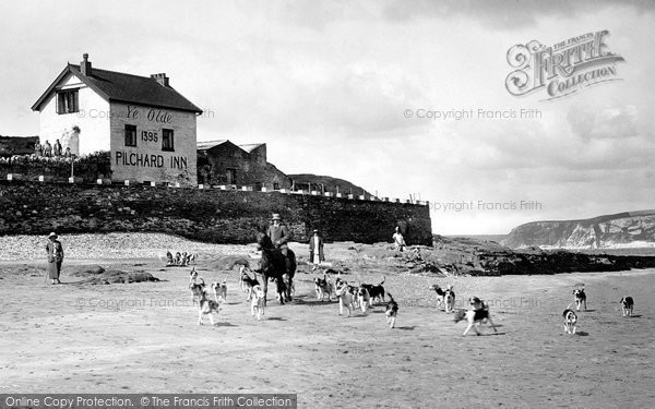 Bigbury On Sea, Ye Olde Pilchard Inn, Burgh Island 1924